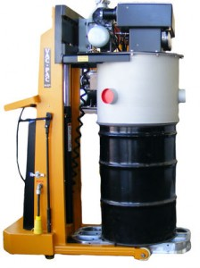 Standard VAC-PAC moves up to 1000m³ of air per hour.