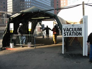 Workers must pass through the Vacuum Station before exiting Ground Zero