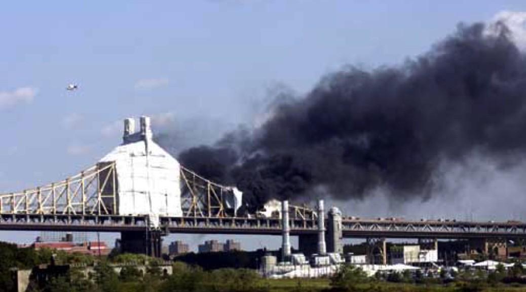 2005, Sandblasting the Queensborough Bridge